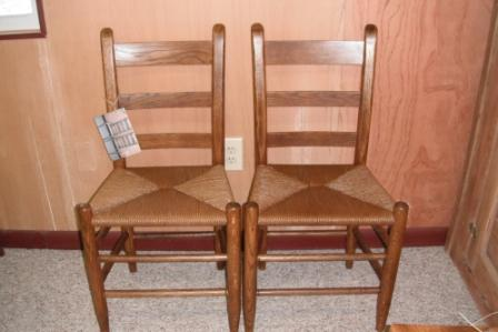 Antique Chairs with Rush Seat - 1 For Sale - C0035 ... - Lehman's Chair Caning And Furniture Restoration - CHAIRS FOR SALE